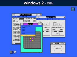 Windows 1 History Of Microsoft Windows 34 Years Of Transformation