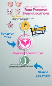 Fairy Type Chart Pokemon Go Spawn Locations Generation 3 Pokemon Spawns