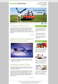 Best Free Email Newsletter Design Templates » Latest Collection