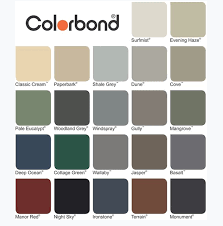 Metal Roof Colours Professional Roofing On Demand