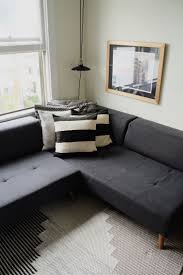 studio living room furniture. Small Space Solution: A Couch That Turns Into Queen Size Bed! Tour This Studio Living Room Furniture