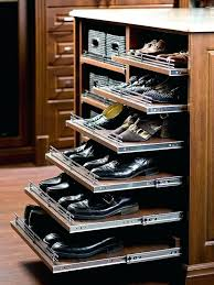 closet island with pull out shoe shelves view full size closetmaid organizer espresso