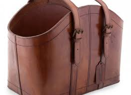 Brown Leather Magazine Holder Magnificent 32 Leather Magazine Holder Make It DIY Leather Magazine Holder