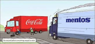 Image result for coke and mentos