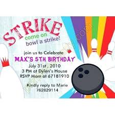 bowling invitation templates bowling invitations template invitation birthday party templates