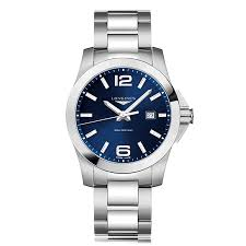 longines conquest l3 760 4 96 6 the watch gallery longines conquest l37604966 ‹