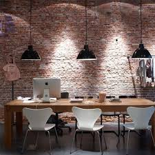 industrial office decor. 26 Wonderful Industrial Home Offices Designs : Astonishing With Pendant Lamp Decor Office H