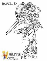 Small Picture Halo coloring pages to download and print for free halo coloring