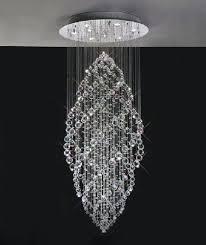 crystal ceiling light square crystal ceiling lights uk