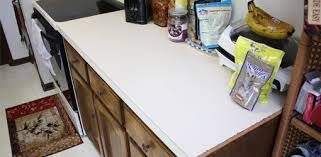 i plan to install tile on a formica countertop