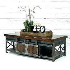 barn coffee table barn coffee table rolling door wood rustic beam early settler orchard oak barn