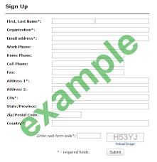 organization membership form template ready to use sign up form