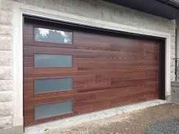 garage door wood lookWood Look Sectional Garage Door  Geekgorgeouscom