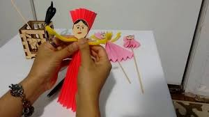 How To Make A Paper Puppet Paper Doll