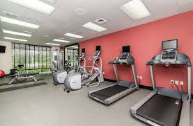 fitness exercise room hilton garden inn foxwoods preston