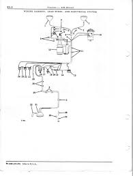 john deere wiring diagram john image wiring need wiring diagram for 1960 435 d yesterday s tractors on john deere 435 wiring diagram
