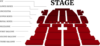 Hd 3d Seating Chart Mpa001 1 Morris Center South Bend