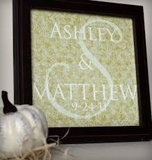 wedding gift printable monogram