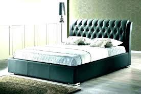 Grey Upholstered Headboard Queen Queen Bed Tufted Headboard Padded ...