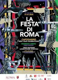 Festa di Roma, il programma del 1°gennaio 2020