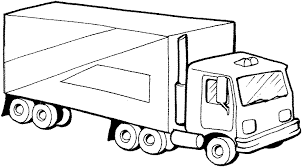truck drawing outline. Plain Outline URGENT Need Picture Of An 18 Wheeler Truck For Cake In Truck Drawing Outline
