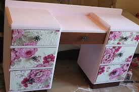 floral decoupage furniture. Decoupage Vanity Salvage Makeover Floral, Chalk Paint, Decoupage, Painted Furniture Floral Hometalk