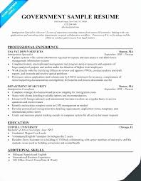 Usajobs Gov Sample Resume Elegant Usa Jobs Resume Example Federal