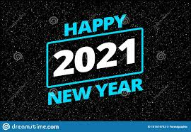 Cool Design Cards Cool Happy New Year 2021 In Star Space Wars Style Greeting