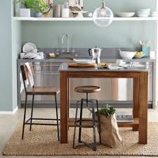 Stainless Steel Kitchen Tables Stainless Steel Kitchen Table The Ultimate Modern Kitchen Table