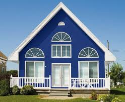 blue exterior paintBlue Exterior Paint  Home Design Ideas