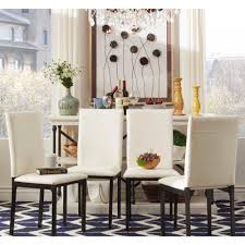 Darcy Metal Upholstered Dining Chair (Set of 4) by iNSPIRE Q Bold - Free  Shipping Today - Overstock.com - 15123254