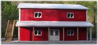 Affordable Pole Barn Homes by APB   House Kits   Turnkey InstallsTwo story barn home