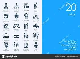 Mlm Hierarchy Chart Multi Level Stock Vectors Royalty Free Multi Level