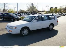 1996 Super White Toyota Camry LE V6 Wagon #48520122 Photo #4 ...