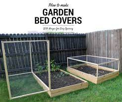 raised bed vegetable garden covers