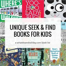 Bible crossword puzzles for children. Beyond Waldo 18 Unique Seek And Find Books For Kids