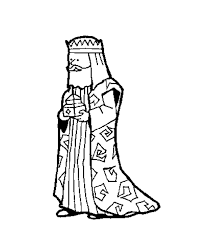 The wise man melchior coloring pages - Hellokids.com