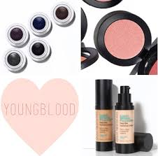 fiore beauty all things pretty youngblood cosmetics review tips