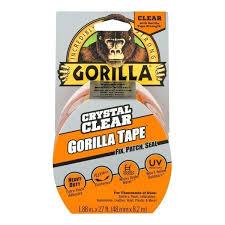 clear gorilla glue repair tape home depot