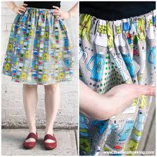 Skirt Patterns With Pockets Simple Tutorial Perfect Summer Skirt With Pockets RedHandled Scissors