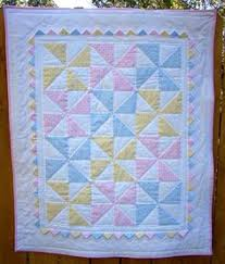 Baby Pinwheel Quilt (The Fleming's Nine)   Squares, Nice and ... & This pastel pinwheel baby quilt is beautiful! Adamdwight.com