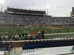 Vaught Hemingway Stadium Section G Home Of Ole Miss Rebels
