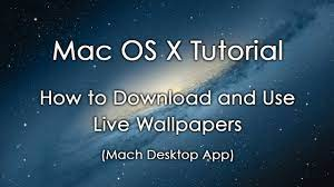 Live Wallpapers For Mac - tagsvoper