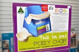 2in1 Potty Chair Roger Armstrong Nursery Training Chair With Trainer Lid