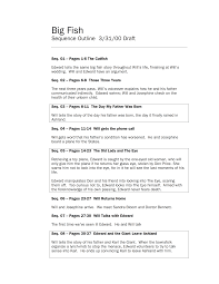 Simple Story Outline Template How To Write A Script Outline For Film And Tv Free Template