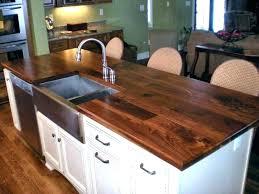 refinishing wood countertops wood countertop refinishing wood finish wood finish face grain walnut island top with