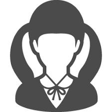 女子高生のフリーアイコン1 アイコン素材ダウンロードサイトicooon