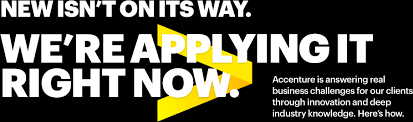 Accenture | Singapore | New isn't on its way. We're applying it ...