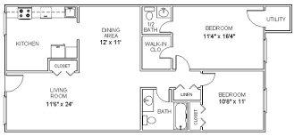 Devonshire Place Apartments » Floor Plan A 2 Bedroom Apartments Apartments Floor Plans 2 Bedrooms