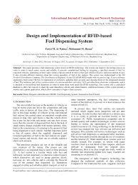 Fuel Dispensing System Design Pdf Design And Implementation Of Rfid Based Fuel Dispensing